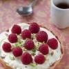 Tartelettes chocolat blanc framboise